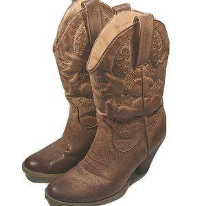 Very Volatile Raspy Womens Sz 6.5 Brown Boots